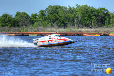 2-1-2013 Photograph - 02 Boat Port Neches  by D Wallace