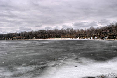 Lake Erie Photograph - 02 Partially Frozen Ripley Ny by Michael Frank Jr