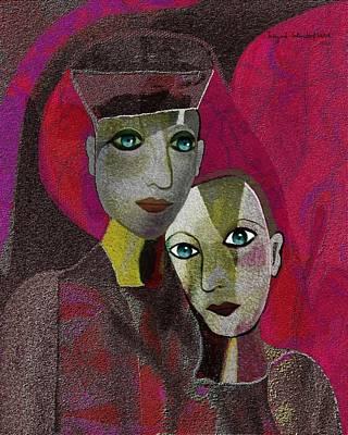 Inuu Digital Art - 020 - Closeness ... by Irmgard Schoendorf Welch