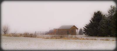 020213-42   Prairie Winter Fantasy Print by Mike Davis