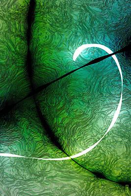 Digital Art - 021515 Positive Negative Light by Matt Lindley
