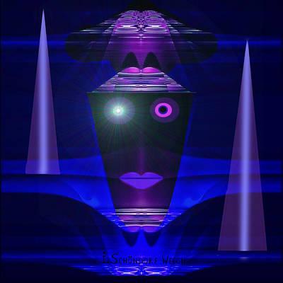 023 - Guard Of The Night  ... Art Print
