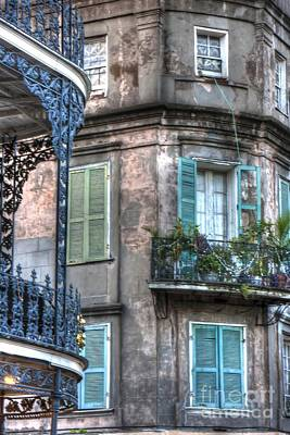 0254 French Quarter 10 - New Orleans Art Print by Steve Sturgill