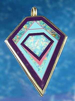 Jewelry - 0332 Portal To The Pyramids by Dianne Brooks