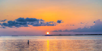 Photograph - 0363-7-key-largo by Lewis Mann