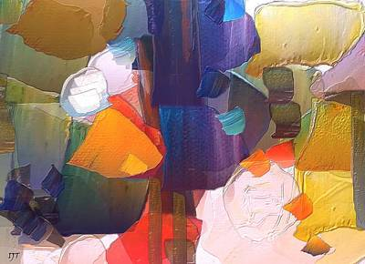 Intuitive Feeling Art Print by I J T Son Of Jesus