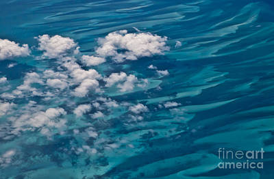 0458 Above The Caribbean Art Print