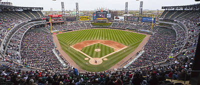 Baseball Royalty-Free and Rights-Managed Images - 0492 US Cellular Field Chicago Illinois by Steve Sturgill