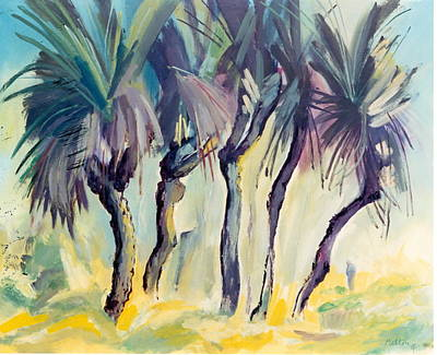 Painting - 05. Black Boys Queensland Aus by Les Melton