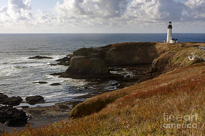 Madonna - 0513  Yaquina Lighthouse by Steve Sturgill