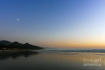 Basketball Patents - 0515 Moon Over Cannon Beach by Steve Sturgill