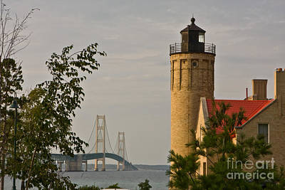 0558 Old Mackinac Point Lighthouse Art Print