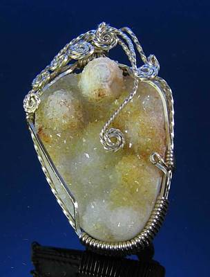 Jewelry - 0569 Drusy Fruit by Dianne Brooks