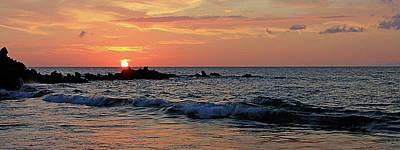 0581 Maui Sunset 2 Art Print