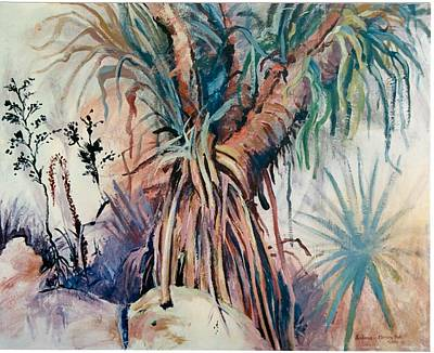 Painting - 06. Palm Tree Queensland Aus by Les Melton