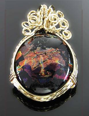 14k Gold Fill Jewelry - 0624 Spirit Over The Earth by Dianne Brooks