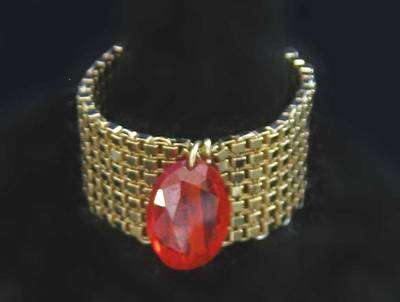 Jewelry - 0740 Woven Ring by Dianne Brooks