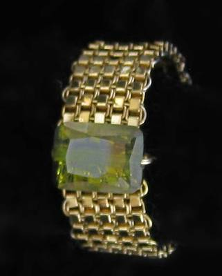 14k Gold Jewelry - 0741 Woven Ring by Dianne Brooks