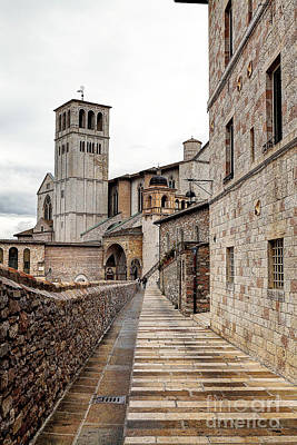 0799 Assisi Italy Art Print by Steve Sturgill