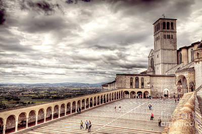 0800 Assisi Italy Art Print by Steve Sturgill