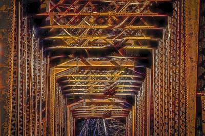 Travel - 081114-71-3 Tired Bridge by Albert Seger