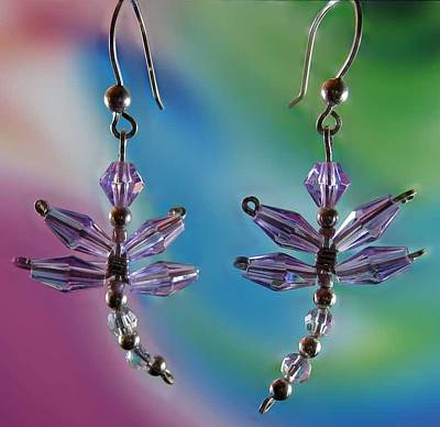 Jewelry - 0817 Lavender Dragonfly by Dianne Brooks