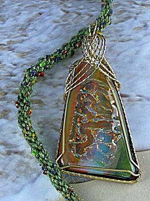 Jewelry - 0820 Sunset Ripples by Dianne Brooks