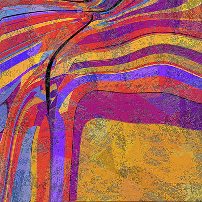 0871 Abstract Thought Art Print by Chowdary V Arikatla