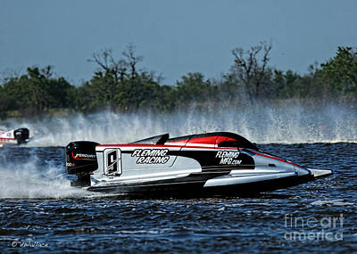 2-1-2013 Photograph - 09 B Boat Port Neches Riverfest by D Wallace