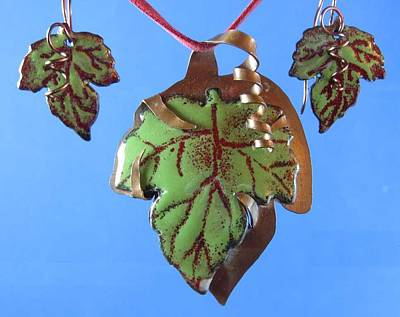 Jewelry - 0911 Fall Grape by Dianne Brooks