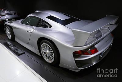 1997 Porsche 911 Gt1 Street Version Art Print
