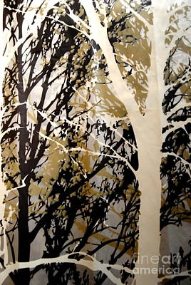 Photograph - Forest - Black Tan Cream 9 Of 10 by Jacqueline M Lewis