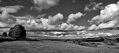 Culm Valley In Devon Art Print