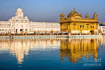 Golden Temple In Amritsar - Punjab - India Art Print by Luciano Mortula