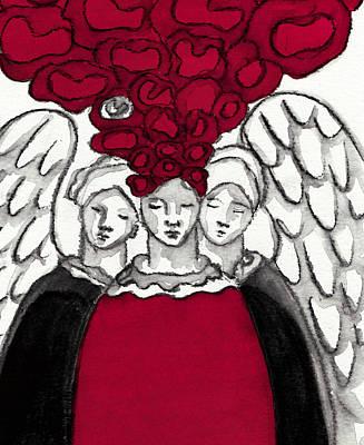 Keepers No 3 Art Print by Milliande Demetriou