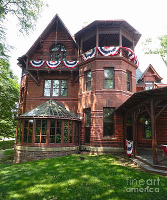 Photograph -  Mark Twain House And Museum by Gregory Dyer