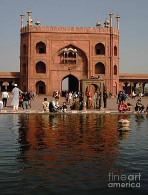 Photograph - Jama Masjid - Old Delhi by Jacqueline M Lewis