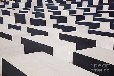 Monuments Photograph -  The Holocaust Memorial by Michal Bednarek