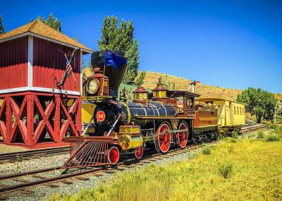 Gold Rush Photograph -  Virginia And Truckee Gold Rush Train 22 by LeeAnn McLaneGoetz McLaneGoetzStudioLLCcom