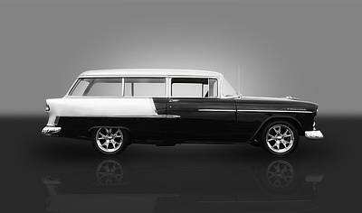 Photograph - 1955 Chevrolet Wagon by Frank J Benz