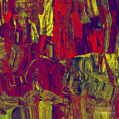 0479 Abstract Thought Art Print by Chowdary V Arikatla