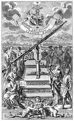 Astronomer Photograph - 17th Century Astronomers by Cci Archives