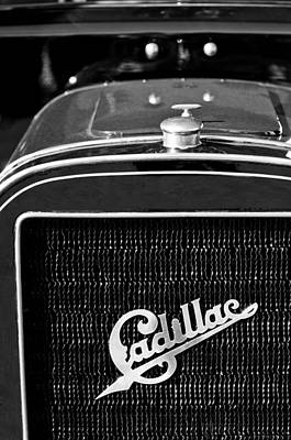 Photograph - 1907 Cadillac Model M Touring Grille Emblem by Jill Reger