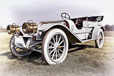 Car Photograph - 1910 Franklin by Marcia Colelli