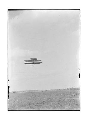 1910 Wright Brothers Flying School Art Print