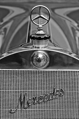 Photograph - 1911 Mercedes 50 Hp Maythorn Five Passenger Tourer Hood Ornament by Jill Reger