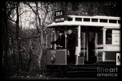 Photograph - 1914 Heaton Park Tram by Doc Braham