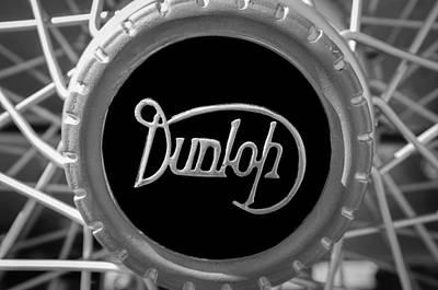 Edinburgh Photograph - 1915 Rolls-royce 40-50 Hp Silver Ghost London-edinburgh Tourer Wheel Emblem by Jill Reger