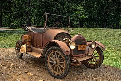 Photograph - 1917 Willys Overland Model 90 Light Roadster by Tim McCullough