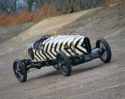 Historic Car Photograph - 1918 Brooklands Straker-squire X2, 4.0 by Panoramic Images